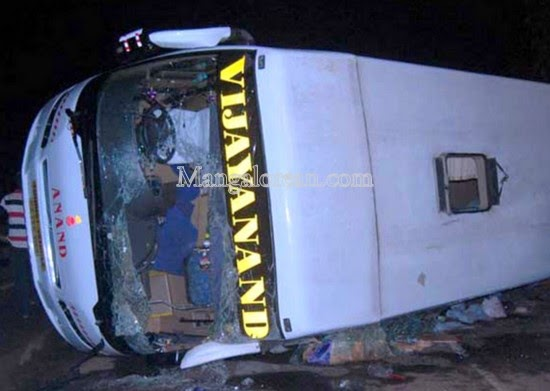 Indian Luxury Buses: Another VRL Volvo accident leaves 4 dead!