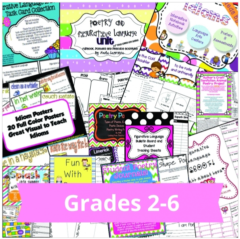 http://www.educents.com/poetry-curriculum-and-activities-bundle.html#Pinkadots