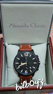 jam alexandre christie 6267 original brown