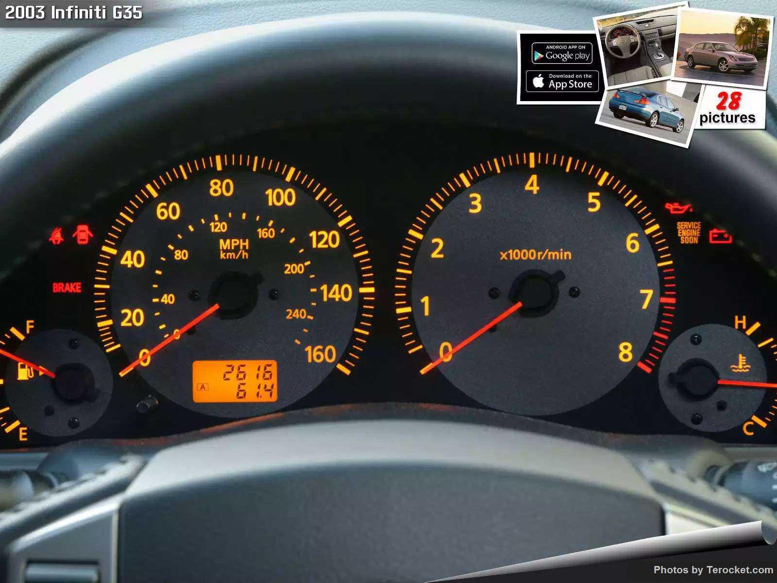 Hình ảnh xe ô tô Infiniti G35 2003 & nội ngoại thất