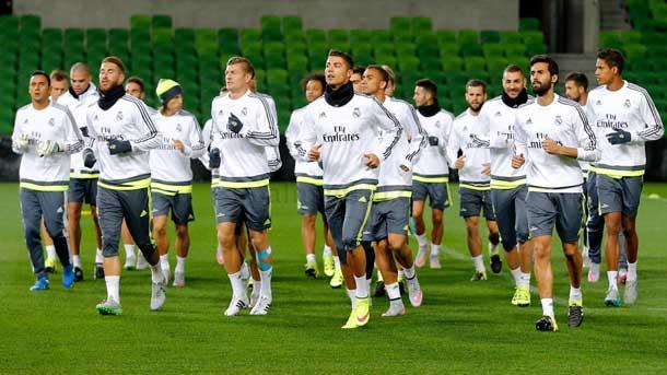 2ce9dee94b36b El mosqueo de Cristiano en los entrenos del Real Madrid