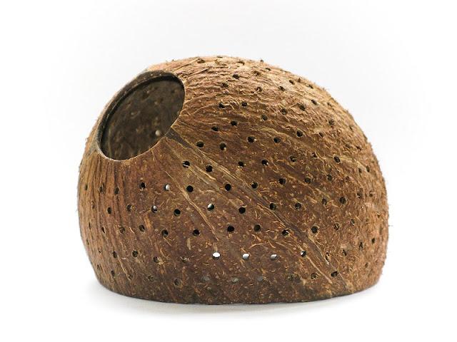 Готовый кокос для аквариума