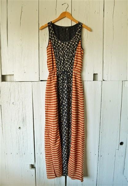 Neda Stripe Maxi | shopgracieb.com