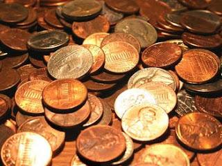 $25 in pennies