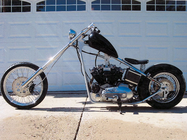 Harley Davidson Choppers Motorcycles