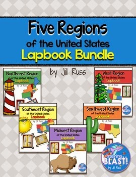 http://www.teacherspayteachers.com/Product/Regions-of-the-United-States-Lapbook-or-Interactive-Notebook-Bundle-1346574