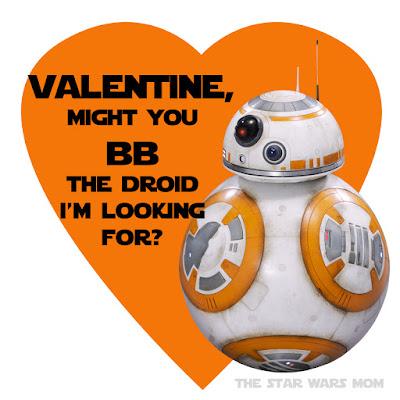 BB8 Valentine by the Star Wars Mom