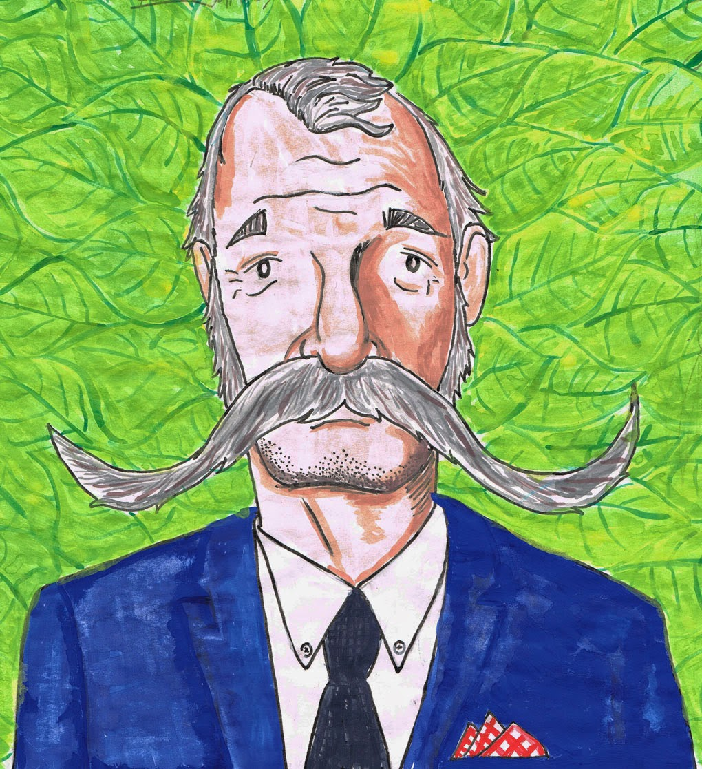 Bill Murray Illustration - Ben J Hutchison