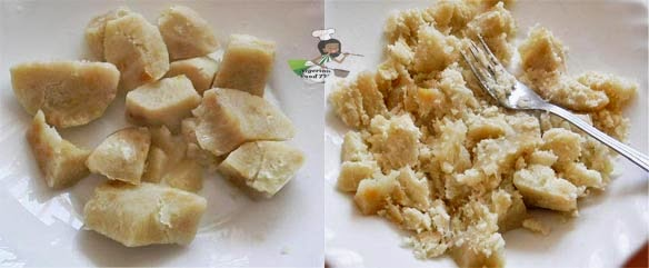 How to Make Pounded Yam in a Blender, Pounded Yam in a Blender , Pounded Yam