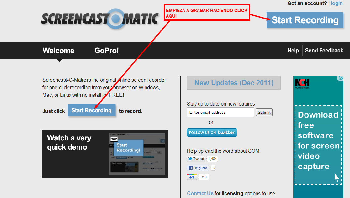 how to download screen cast o matic
