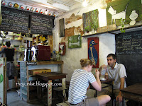 Amelies, Georgetown, Penang, Recycle, restaurant, cafe, Italian, cute, home chef