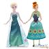 "Set de muñecas Elsa y Anna de ""Frozen Fever"" (Disney Store)"