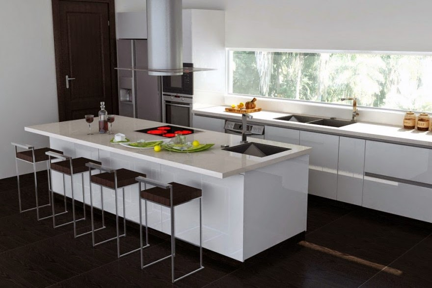 modern kitchen minimalist decor