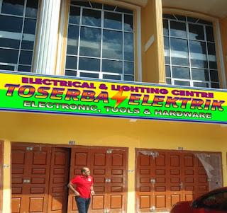 Segera dibuka Gerai Minimarket Toserba Elektrik di Medan
