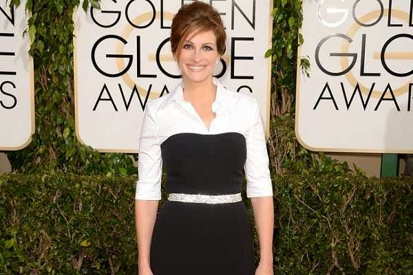 Julia Roberts at 2014 Golden Globes Red Carpet