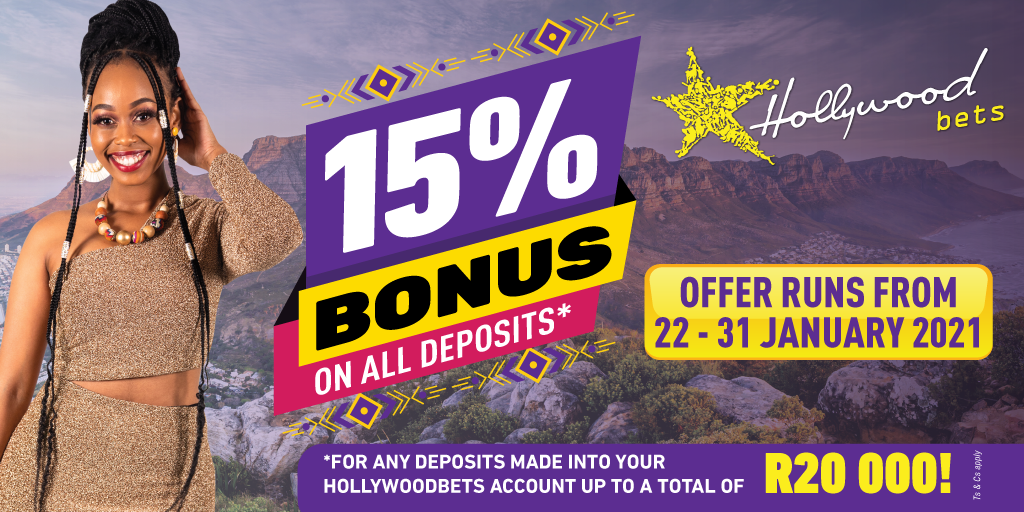 15% Bonus
