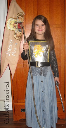 St. Joan of Arc ~ Costume  sc 1 st  Catholic Inspired : jesus costumes homemade  - Germanpascual.Com