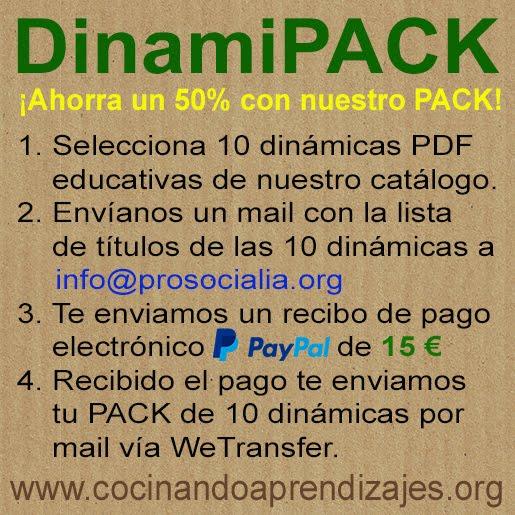 DinamiPACK: 10 dinámicas de grupo imprimibles PDF por 15 €