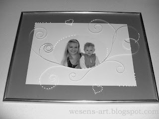 Frame with Quilling 1   wesens-art.blogspot.com