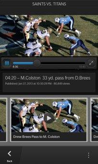 NFL Mobile for BlackBerry 10