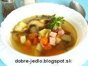 Bavorská polievka - recept