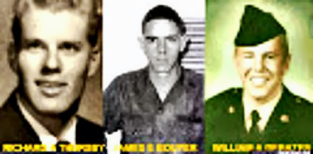 .IN MEMORY OF: THURSBY, BOUYER, AND DEBATES - KIA- VIETNAM - 199th L.I.B