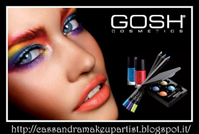 GOSH Cosmetics - blogger tester - recensione review - eyeshadow palette - bb cream - lip gloss - mascara