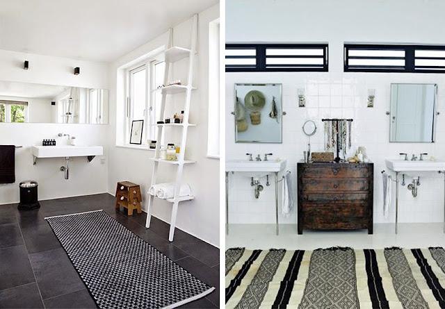 Alfombras para baños