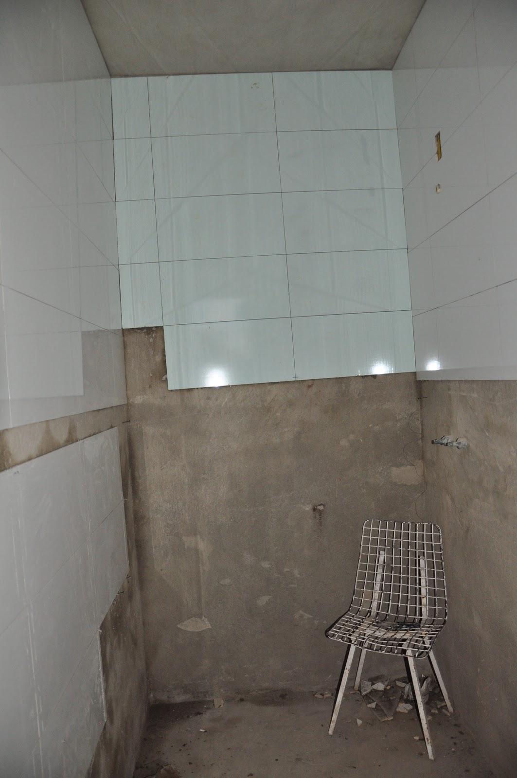Larissa & Valmon Banheiro Suíte -> Banheiros Com Pastilhas Na Horizontal