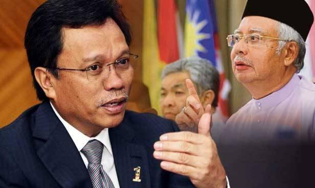 Shafie Apdal vs Najib