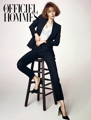 Go Joon Hee - L'Officiel Hommes Magazine December Issue 2013