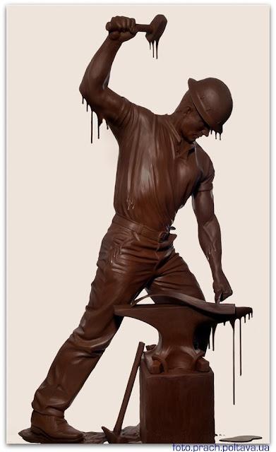 Шоколадный кузнец