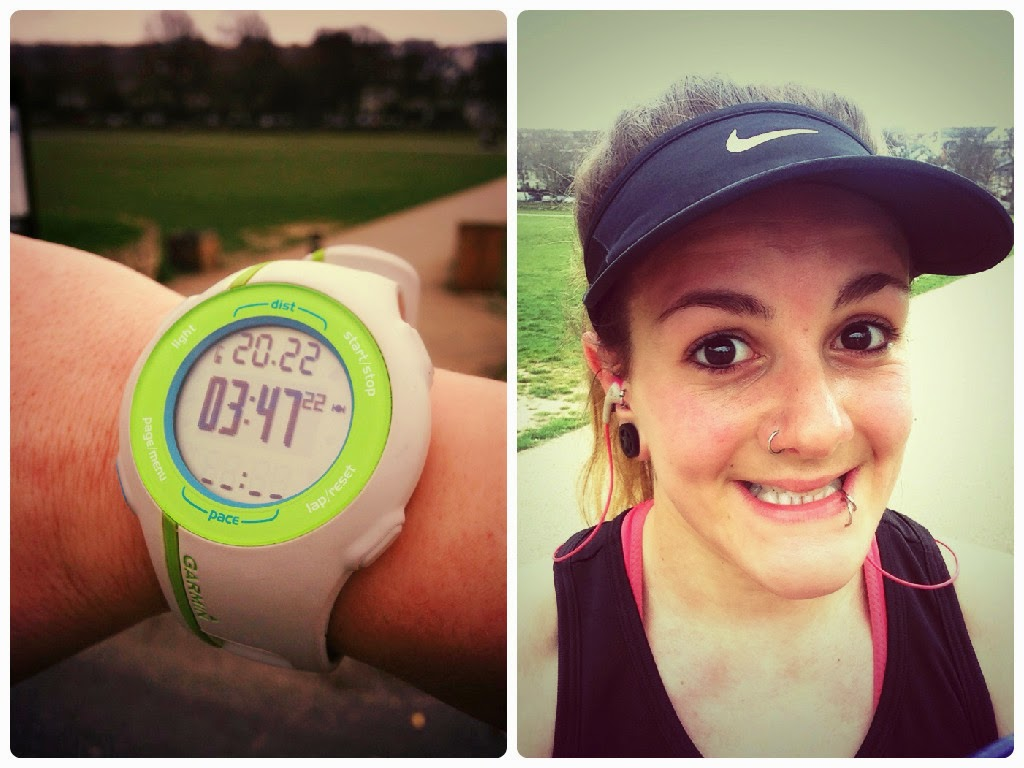 20 miles training run | Brighton Marathon Training | FitBits