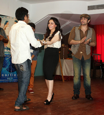 Team of 'Heartless' inaugurate the poster of college festival 'Taarangan'