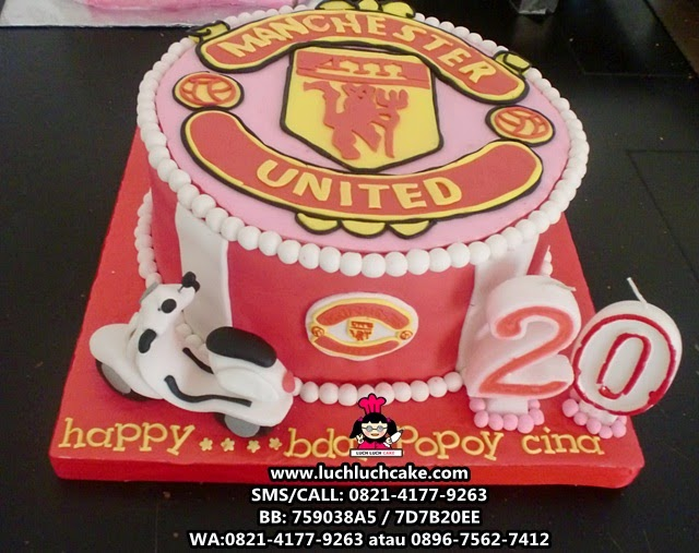 Kue Tart Manchester United dan Vespa Daerah Surabaya - Sidoarjo