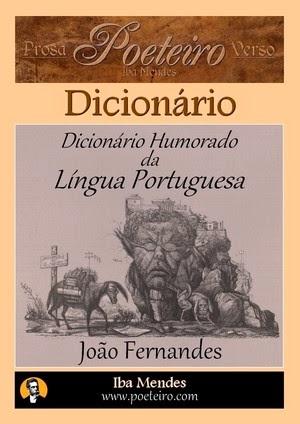 Dicionário Humorado da Língua Portuguesa, de João Fernandes - dicionario em pdf para baixar grátis