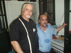 أ. الفقيد زهير بلهاني و زميله سمير الجنحاني