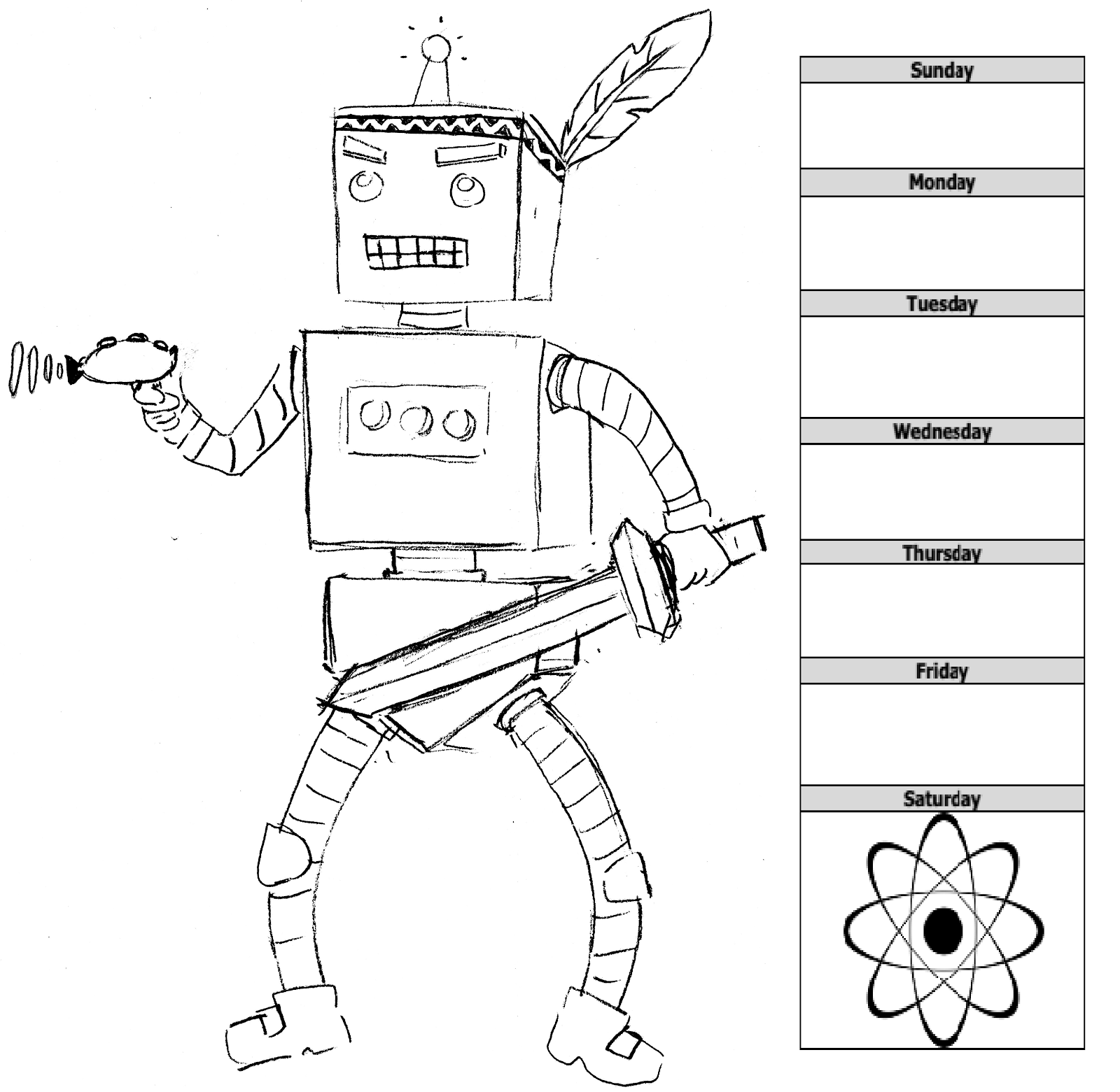 A Robot Warrior Network Production
