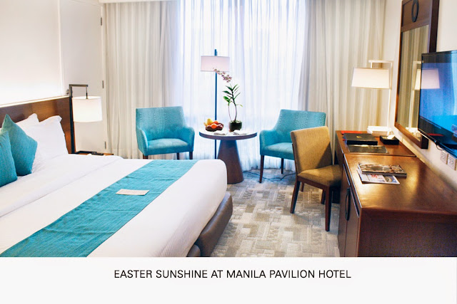 Easter Sunshine at Manila Pavilion Hotel
