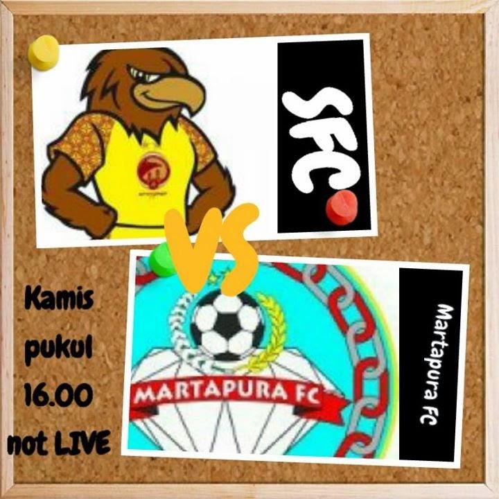 Sriwijaya FC vs Martapura Piala Gubern   ur Sumsel 2015