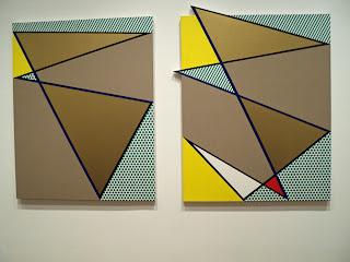 Roy Lichetenstein painting at The Art Institute of Chicago