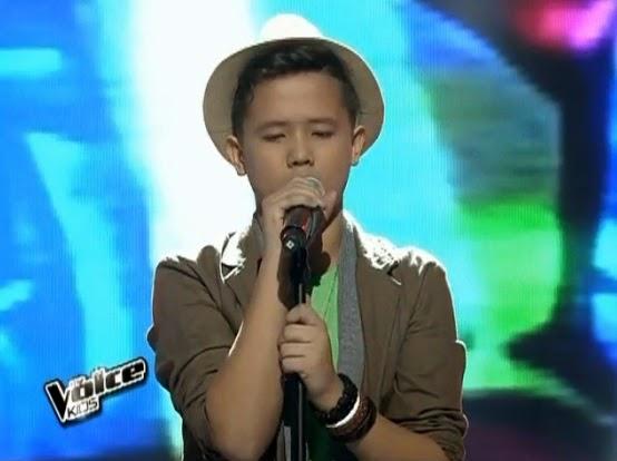 Juan Karlos Labajo sings 'Runaway Baby' on 'The Voice Kids' PH Upbeat Song Round