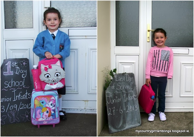<first and last day of junior infants>
