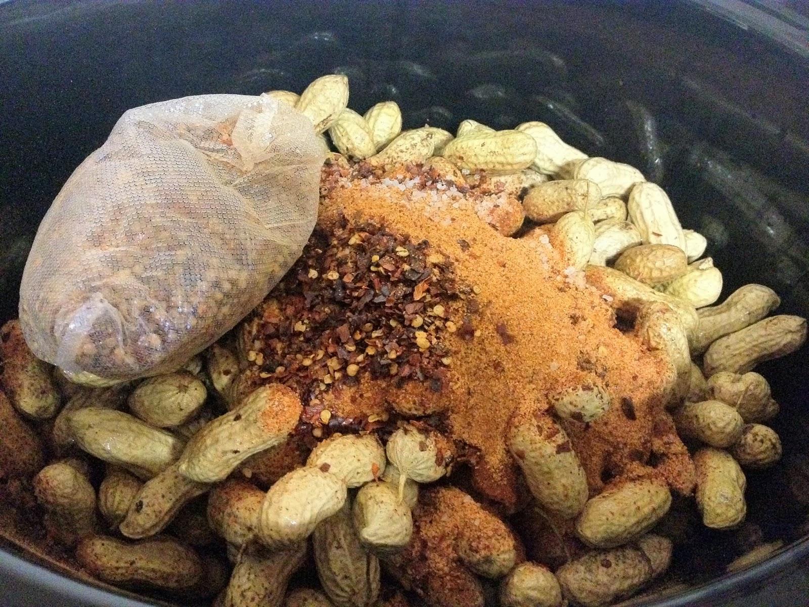 This A.M.: Cajun Boiled Peanuts
