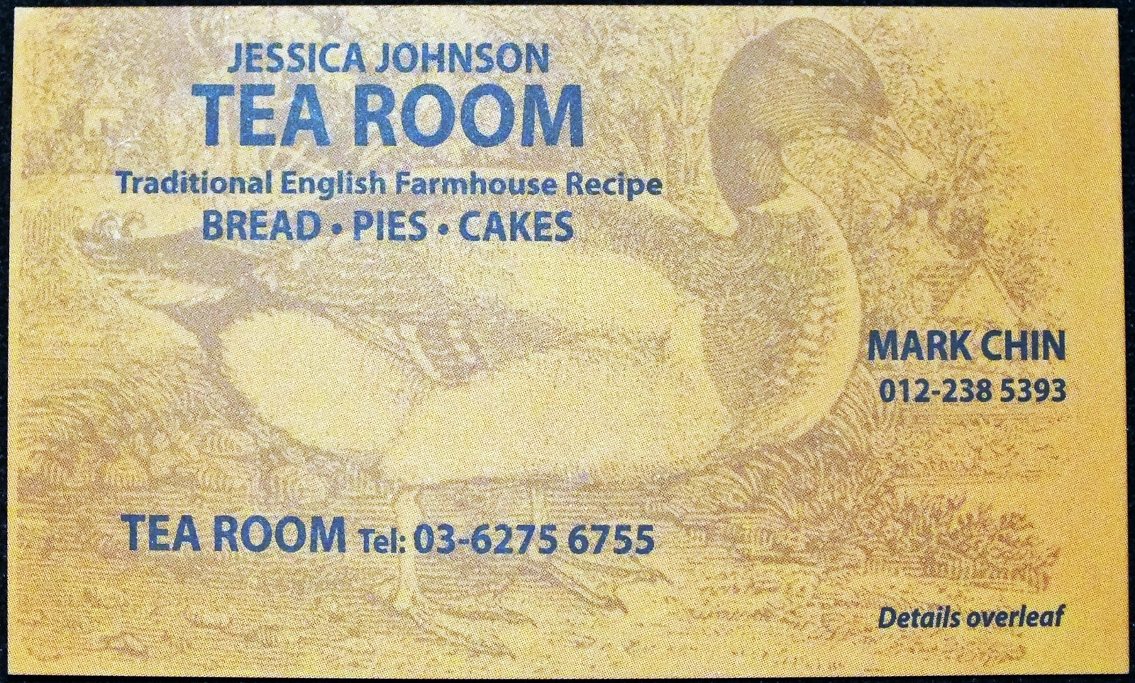 Jessica Johnson Tea Room
