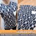 T-Shirt Diamond Abstract Batik Blue