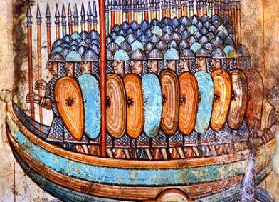 Moda militar en los reinos taifales durante el siglo XI Vikingos1