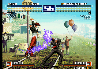 the king of fighters 2003 pc setup