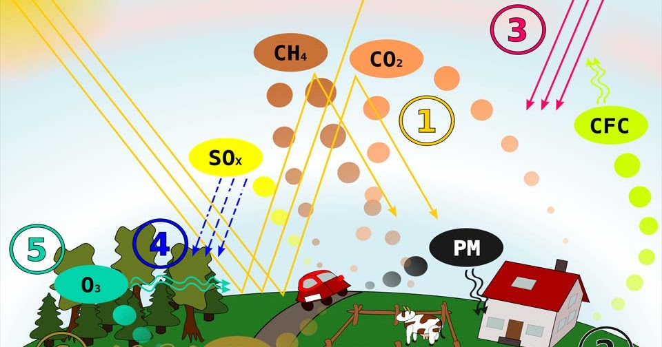 6 Polutan Gas Penyebab Pencemaran Udara