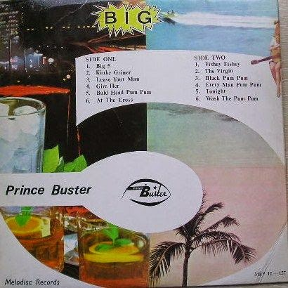 Prince Buster Tutti Frutti Fabulous Greatest Hits Volume One